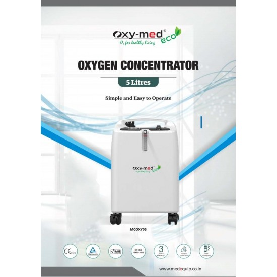 Oxygen Concentrator - Oxymed ECO 5 Liter