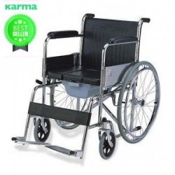 Karma Rainbow 6 Commode Wheelchair