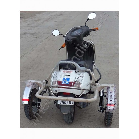 Side Wheel Attachment Kit For Activa