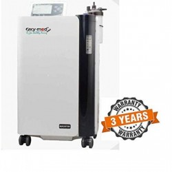 Oxy-Med Oxygen Concentrator - 5 ltrs Mini with inbuilt Nebulizer